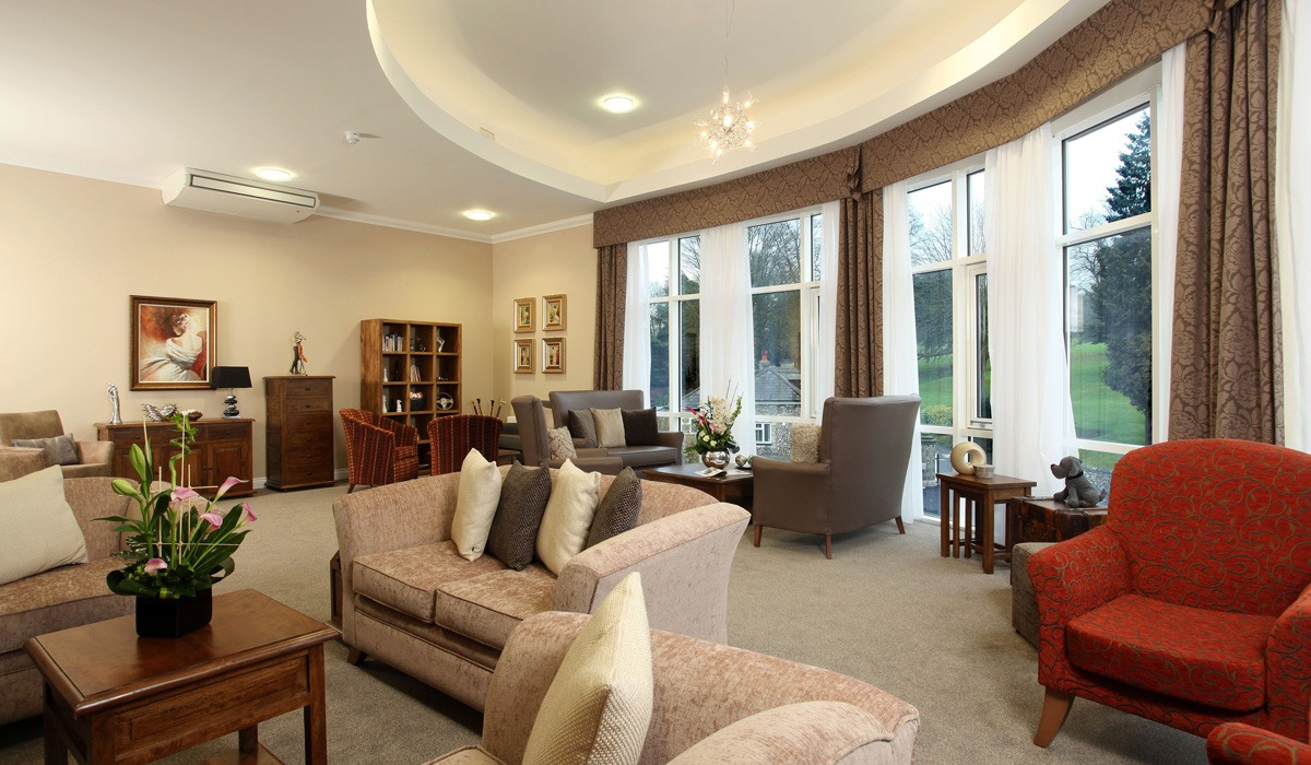 Comfortable lounge area at Water Mill House