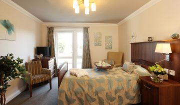 Comfortable bedrooms at Water Mill House