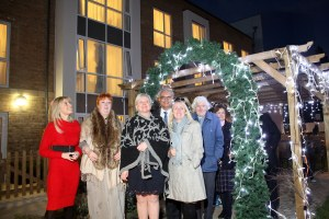 Christmas Lights at Water Mill House